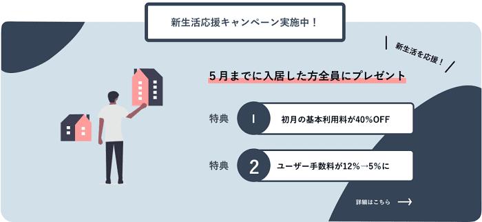 ユニット新生活応援キャンペーン